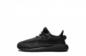 "Yeezy Boost 350 V2 Kids ""Black Reflective""【High Quality】"
