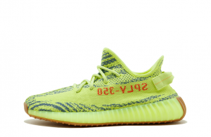 "Adidas Yeezy Boost 350 V2 ""Semi Frozen Yellow""【High Quality】"