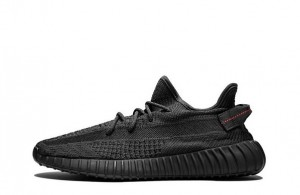 "Adidas Yeezy Boost 350 V2 ""Black Non-Reflective""【High Quality】"