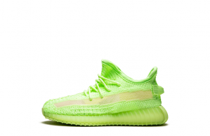 "Real Yeezy Boost 350 V2 GID Infant ""Green Glow""【High Quality】"