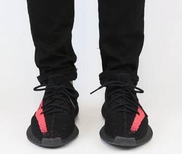 Yeezy Boost Black Red